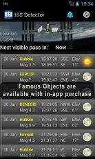ISS Detector Screenshot