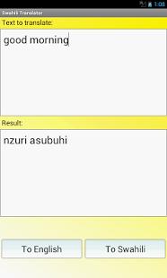 Swahili Translator Dictionary2