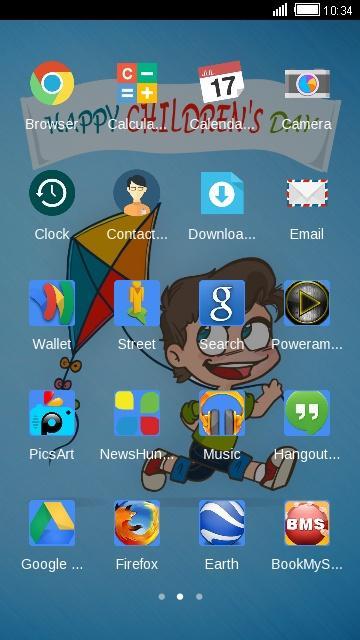 HAPPY CHILDRENS DAY THEME screenshot