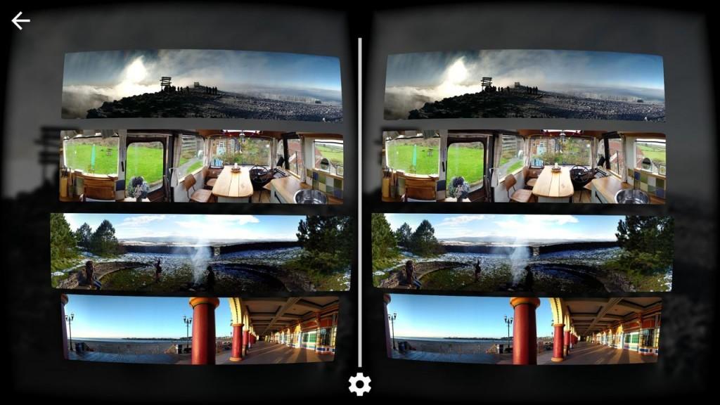 Cardboard Camera app screenshot 1