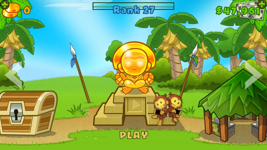 Bloons TD 5 game screenshot 1