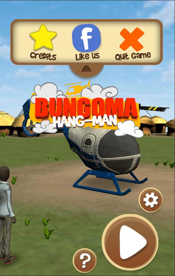 Bungoma Hangman screenshot