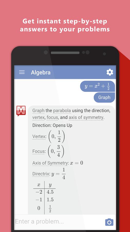 Mathway screenshot 1