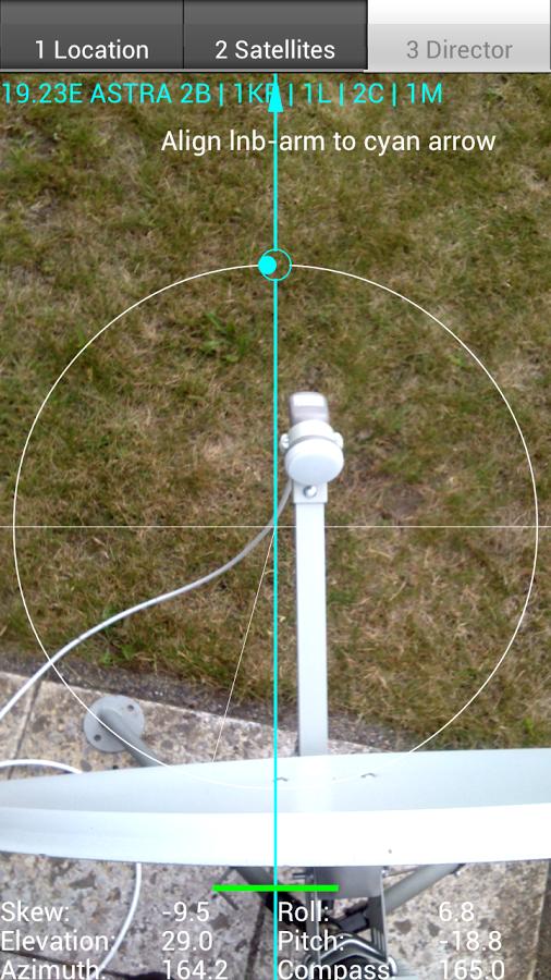 Satellite Director Screenshot 2
